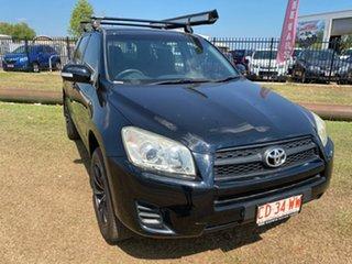 2009 Toyota RAV4 ACA33R MY09 CV Black 5 Speed Manual Wagon.