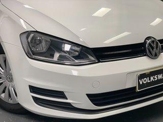 2015 Volkswagen Golf VII MY16 92TSI DSG Pure White 7 Speed Sports Automatic Dual Clutch Hatchback.