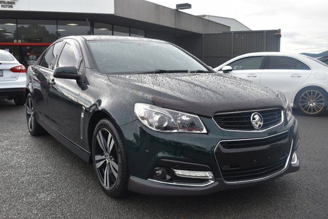 Used Holden Commodore VF MY15 SV6 Storm Wantirna South, 2015 Holden Commodore VF MY15 SV6 Storm Regal Peacock Green 6 Speed Sports Automatic Sedan
