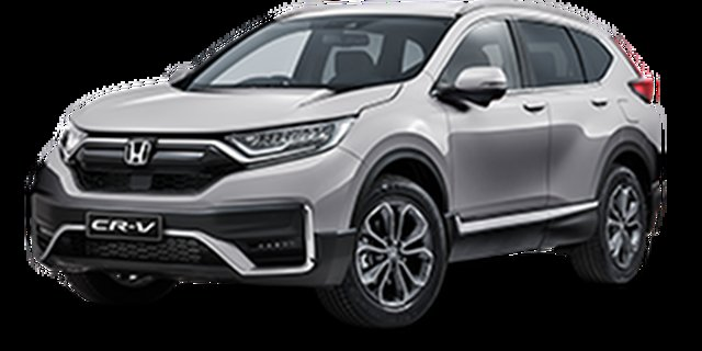 Demo Honda CR-V RW MY21 VTi FWD L7 Hamilton, 2020 Honda CR-V RW MY21 VTi FWD L7 Lunar Silver 1 Speed Constant Variable Wagon