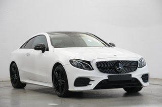 2017 Mercedes-Benz E-Class C238 E220 d 9G-Tronic PLUS White 9 Speed Sports Automatic Coupe