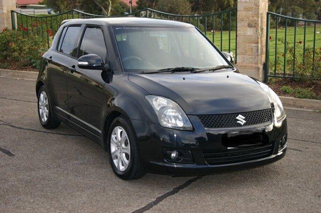 Used Suzuki Swift EZ MY07 Update RE.4 Blair Athol, 2009 Suzuki Swift EZ MY07 Update RE.4 Black 4 Speed Automatic Hatchback