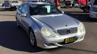 2005 Mercedes-Benz C-Class CL203 MY2006 C180 Kompressor Sports Silver 5 Speed Automatic Coupe