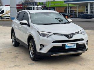 2017 Toyota RAV4 GX White Sports Automatic Wagon.