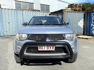 2013 Mitsubishi Triton MN MY13 GLX-R Double Cab Silver 5 Speed Sports Automatic Utility