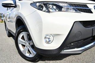 2013 Toyota RAV4 ASA44R GXL AWD White 6 Speed Sports Automatic Wagon.