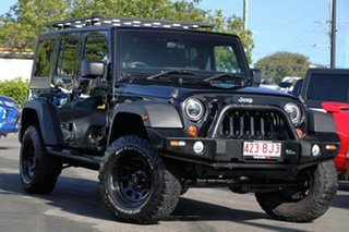 2011 Jeep Wrangler JK MY2011 Unlimited 70th Anniversary Black 4 Speed Automatic Hardtop.