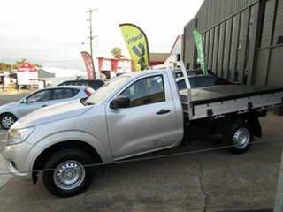 2015 Nissan Navara D23 DX 4x2 Silver 6 Speed Manual Cab Chassis