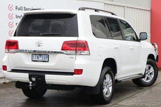 2021 Toyota Landcruiser VDJ200R GXL Glacier White 6 Speed Sports Automatic Wagon.