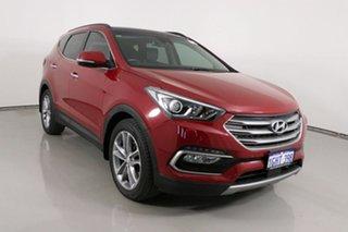 2017 Hyundai Santa Fe DM Series II (DM3)MY17 Highlander CRDi (4x4) Red 6 Speed Automatic Wagon.