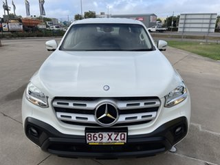 2017 Mercedes-Benz X-Class 470 X250d 4MATIC Pure White/130418 7 Speed Sports Automatic Utility