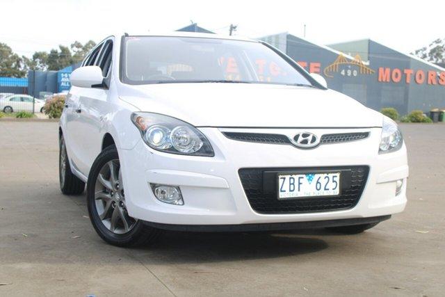 Used Hyundai i30 FD MY12 Trophy West Footscray, 2012 Hyundai i30 FD MY12 Trophy 4 Speed Automatic Hatchback