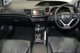 2014 Honda Civic 9th Gen Ser II MY15 Sport Silver 5 Speed Sports Automatic Sedan