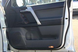 2012 Toyota Landcruiser Prado KDJ150R Kakadu White 5 Speed Sports Automatic Wagon