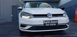 2017 Volkswagen Golf AU MY18 110 TSI Comfortline White 7 Speed Auto Direct Shift Hatchback.