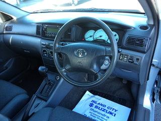 2004 Toyota Corolla ZZE122R Ascent Blue 4 Speed Automatic Sedan