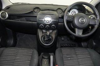 2008 Mazda 2 DE10Y1 Maxx Black 5 Speed Manual Hatchback