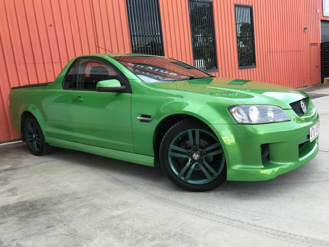 Used Holden Ute VE SV6 Molendinar, 2007 Holden Ute VE SV6 Green 5 Speed Sports Automatic Utility