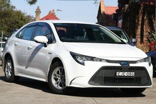 2020 Toyota Corolla Mzea12R Ascent Sport Glacier White 10 Speed Constant Variable Sedan.