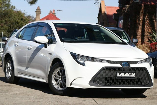 Pre-Owned Toyota Corolla Mzea12R Ascent Sport Mosman, 2020 Toyota Corolla Mzea12R Ascent Sport Glacier White 10 Speed Constant Variable Sedan