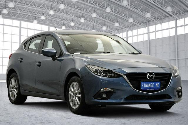 Used Mazda 3 BM5478 Maxx SKYACTIV-Drive Victoria Park, 2015 Mazda 3 BM5478 Maxx SKYACTIV-Drive Blue 6 Speed Sports Automatic Hatchback