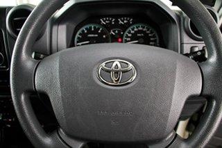 2012 Toyota Landcruiser VDJ79R MY12 Update GXL (4x4) French Vanilla 5 Speed Manual