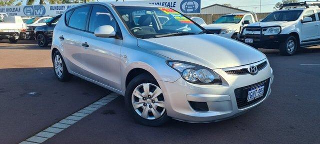 Used Hyundai i30 FD MY11 SX East Bunbury, 2012 Hyundai i30 FD MY11 SX Silver 4 Speed Sports Automatic Hatchback