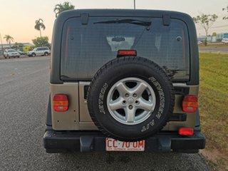 2006 Jeep Wrangler TJ MY2006 Renegade Light Bronze 6 Speed Manual Softtop
