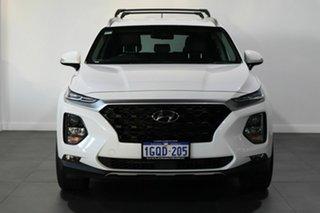 2018 Hyundai Santa Fe TM MY19 Active White 6 Speed Sports Automatic Wagon.