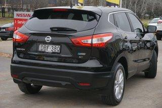 2015 Nissan Qashqai J11 ST Black 1 Speed Constant Variable Wagon
