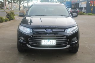 2012 Ford Territory SZ TS (RWD) Black 6 Speed Automatic Wagon.