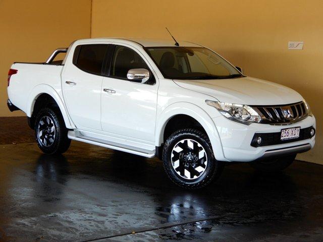 Used Mitsubishi Triton MQ MY18 Exceed (4x4) Toowoomba, 2017 Mitsubishi Triton MQ MY18 Exceed (4x4) White 5 Speed Automatic Dual Cab Utility