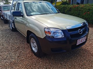 2008 Mazda BT-50 UNY0W3 DX 4x2 Gold 5 Speed Manual Cab Chassis.