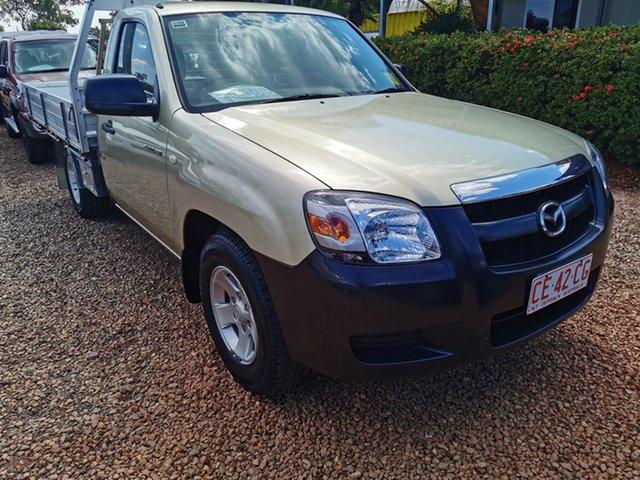 Used Mazda BT-50 UNY0W3 DX 4x2 Pinelands, 2008 Mazda BT-50 UNY0W3 DX 4x2 Gold 5 Speed Manual Cab Chassis