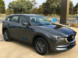 2021 Mazda CX-5 KF4WLA Touring SKYACTIV-Drive i-ACTIV AWD Machine Grey 6 Speed Sports Automatic.