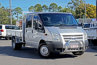 2012 Ford Transit VM LWB Silver 6 Speed Manual Single Cab Cab Chassis.