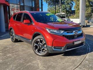 2018 Honda CR-V RW MY19 VTi-LX 4WD Passion Red 1 Speed Constant Variable Wagon.