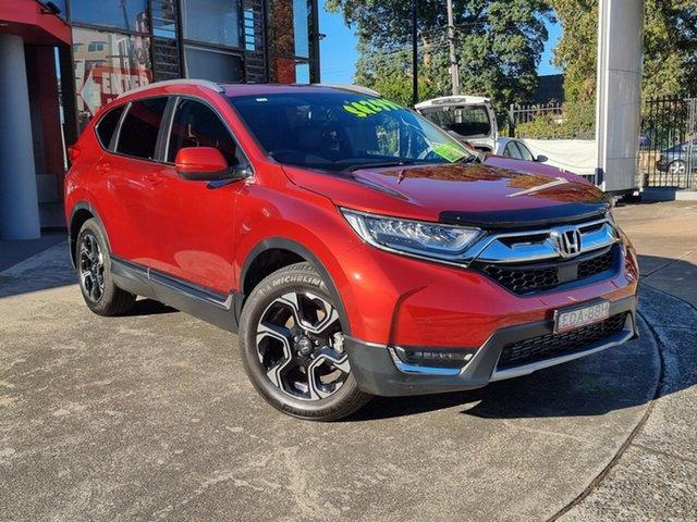 Used Honda CR-V RW MY19 VTi-LX 4WD Hornsby, 2018 Honda CR-V RW MY19 VTi-LX 4WD Passion Red 1 Speed Constant Variable Wagon