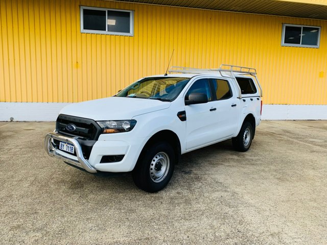 Used Ford Ranger PX MkII XL Hi-Rider Canning Vale, 2017 Ford Ranger PX MkII XL Hi-Rider White 6 Speed Sports Automatic Utility