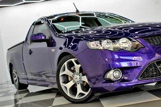 2010 Ford Falcon FG Upgrade XR6 50th Anniversary Purple 6 Speed Auto Seq Sportshift Utility.