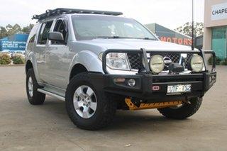 2006 Nissan Pathfinder R51 ST (4x4) Silver 5 Speed Automatic Wagon.