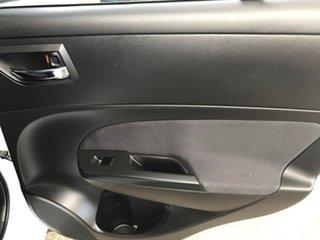 2012 Suzuki Swift FZ GL White 4 Speed Automatic Hatchback