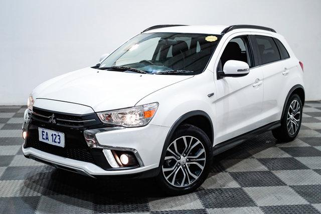 Used Mitsubishi ASX XC MY18 LS 2WD Edgewater, 2018 Mitsubishi ASX XC MY18 LS 2WD White 1 Speed Constant Variable Wagon
