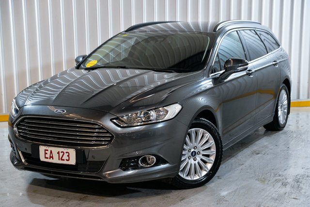 Used Ford Mondeo MD 2017.00MY Trend Hendra, 2017 Ford Mondeo MD 2017.00MY Trend Grey 6 Speed Sports Automatic Dual Clutch Wagon