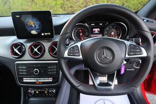 2017 Mercedes-Benz CLA-Class C117 807MY CLA250 DCT 4MATIC Sport Jupiter Red 7 Speed