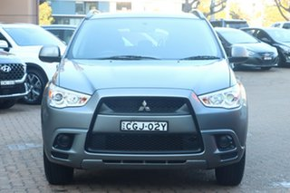 2012 Mitsubishi ASX XA MY12 (2WD) Grey 5 Speed Manual Wagon