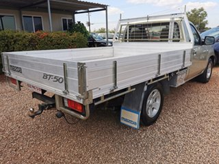 2008 Mazda BT-50 UNY0W3 DX 4x2 Gold 5 Speed Manual Cab Chassis