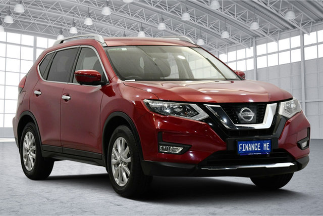 Used Nissan X-Trail T32 ST-L X-tronic 4WD Victoria Park, 2017 Nissan X-Trail T32 ST-L X-tronic 4WD Red 7 Speed Constant Variable Wagon