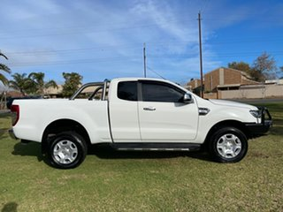 2018 Ford Ranger PX MkII 2018.00MY XLT Super Cab White 6 Speed Sports Automatic Utility