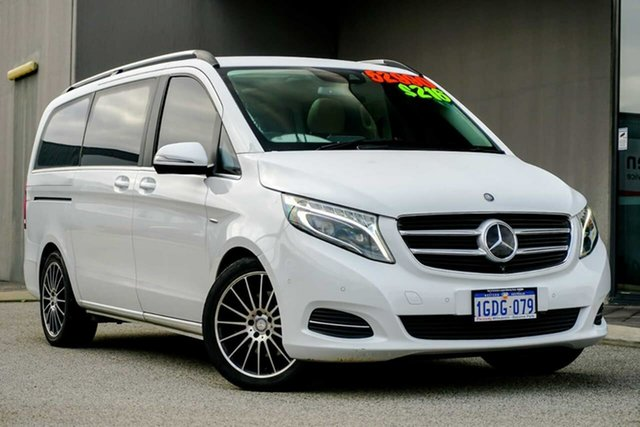 Used Mercedes-Benz V-Class 447 V250 d 7G-Tronic + Avantgarde Osborne Park, 2016 Mercedes-Benz V-Class 447 V250 d 7G-Tronic + Avantgarde White 7 Speed Sports Automatic Wagon